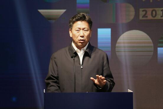教育部体育卫生与艺术教育司王登峰司长在启动仪式上致辞