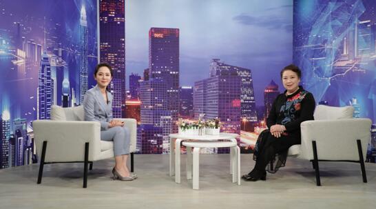 """""""鑫海聚科技""""创始人刘丽娟做客《崛起中国》"""