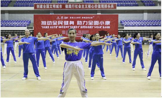 """""""全民健身 活力中國""""助力群眾體育發展,以體育力量踐行社會責任"""