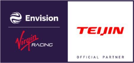 "帝人与Envision Virgin Racing并肩征战""电动方程式"""