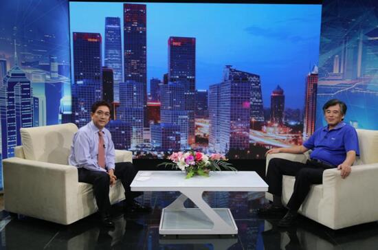 """""""蓄势教育""""创始人吴伟做客《信用中国》"""