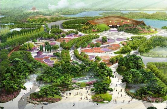 绿色发展 环保先行 山丘竹纸闪耀北京世园会