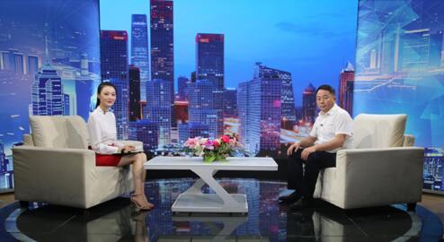 """""""浑源县环保型煤科技""""董事长王志江做客《信用中国》"""