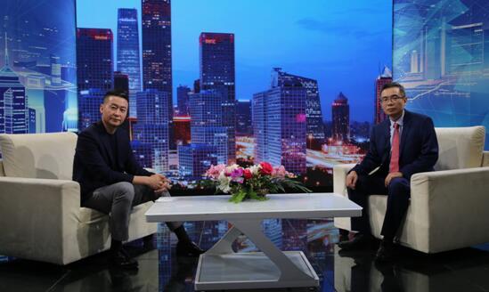 """""""广东兆业工程管理""""董事长陈瑜做客《信用中国》"""