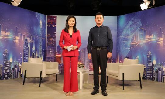 """""""北京精灵时创人力资源管理""""总经理张硕做客《信用中国》"""